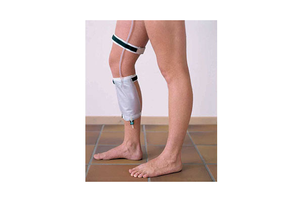 Comfort leg bag and p.grip tubing gripper
